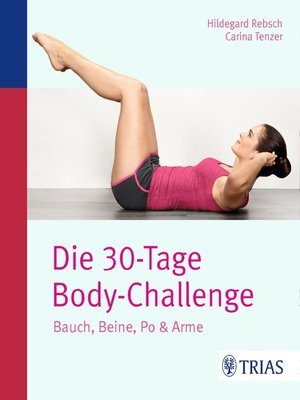 cover image of Die 30-Tage-Body-Challenge