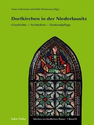 cover image of Dorfkirchen in der Niederlausitz