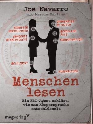 cover image of Menschen lesen