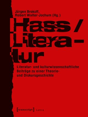 cover image of Hass/Literatur