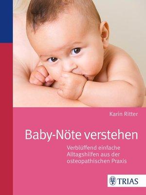 cover image of Baby-Nöte verstehen