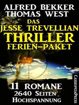 cover image of Das Jesse Trevellian Thriller Ferien-Paket