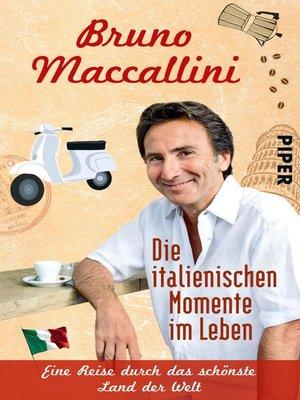 cover image of Die italienischen Momente im Leben