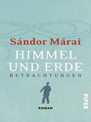 cover image of Himmel und Erde