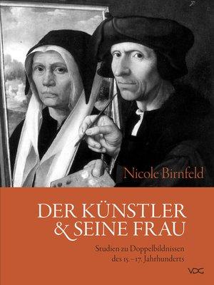 cover image of Der Künstler und seine Frau