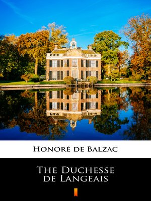 cover image of The Duchesse de Langeais