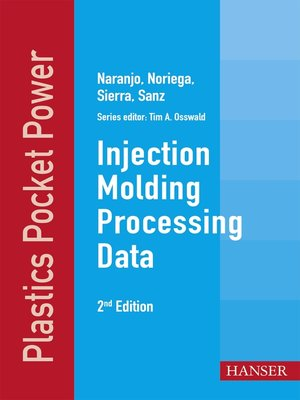 cover image of Injection Molding Processing Data