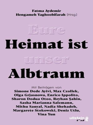 cover image of Eure Heimat ist unser Albtraum