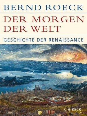 cover image of Der Morgen der Welt