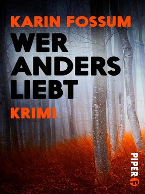 cover image of Wer anders liebt