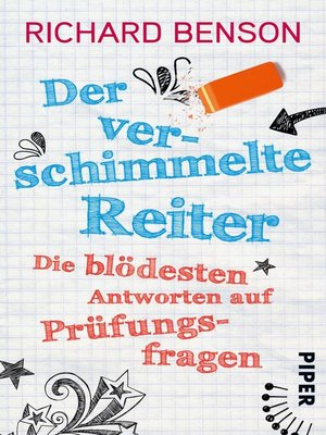 cover image of Der verschimmelte Reiter