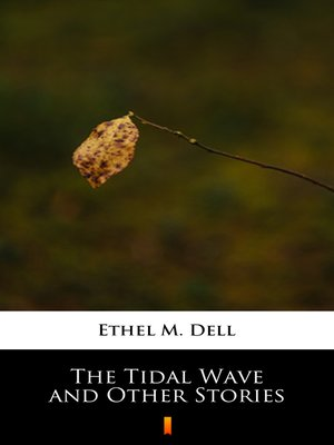cover image of The Tidal Wave and Other Stories