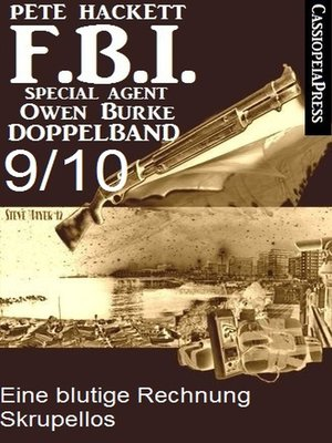 cover image of FBI Special Agent Owen Burke Folge 9/10--Doppelband