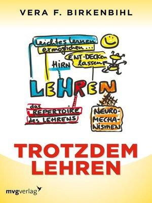 cover image of Trotzdem lehren