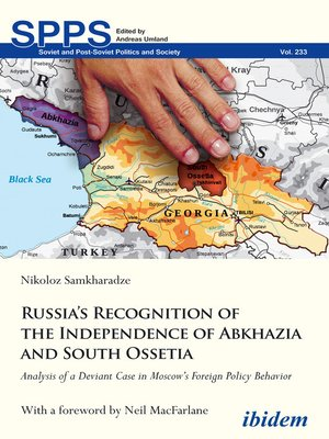 cover image of Russia's Recognition of the Independence of Abkhazia and South Ossetia