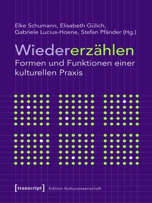 cover image of Wiedererzählen