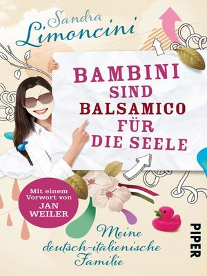 cover image of Bambini sind Balsamico für die Seele