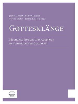 cover image of Gottesklänge
