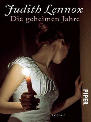 cover image of Die geheimen Jahre