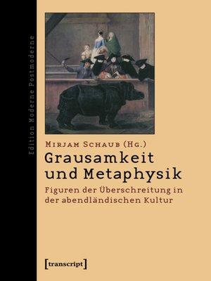 cover image of Grausamkeit und Metaphysik