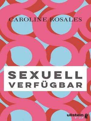 cover image of Sexuell verfügbar