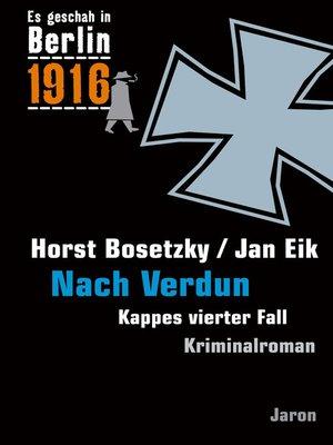 cover image of Nach Verdun