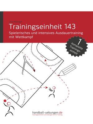 cover image of Spielerisches und intensives Ausdauertraining mit Wettkampf (TE 143)