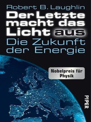 cover image of Der Letzte macht das Licht aus