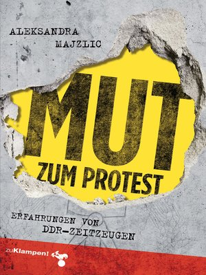 cover image of Mut zum Protest