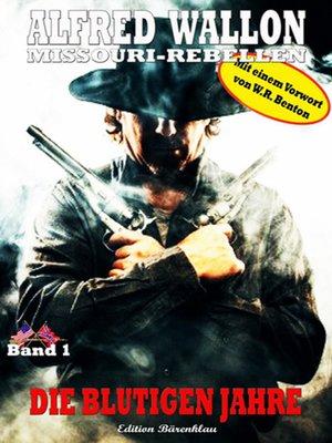 cover image of Die blutigen Jahre