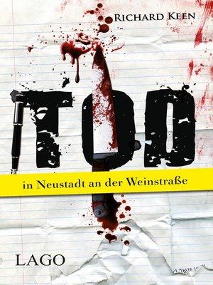 cover image of Tod in Neustadt an der Weinstraße