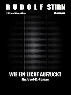 cover image of Wie ein Licht aufzuckt