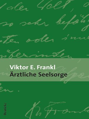 cover image of Ärztliche Seelsorge