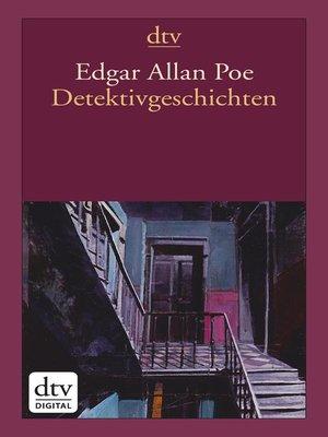 cover image of Detektivgeschichten