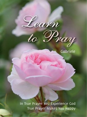 cover image of Learn to Pray