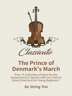 cover image of The Prince of Denmark's March