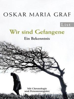 cover image of Wir sind Gefangene