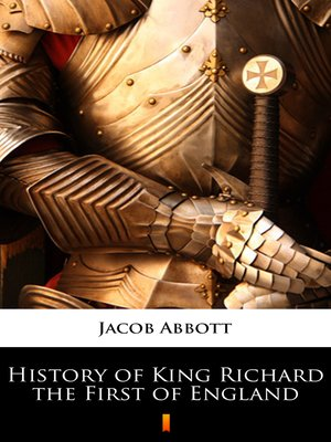 cover image of History of King Richard the First of England