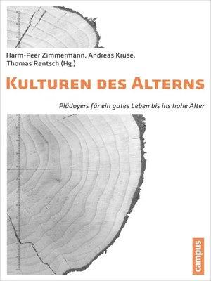 cover image of Kulturen des Alterns