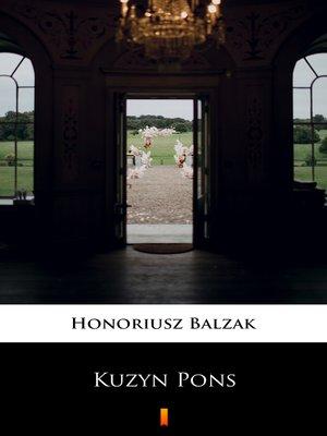 cover image of Kuzyn Pons