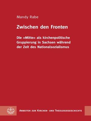 cover image of Zwischen den Fronten