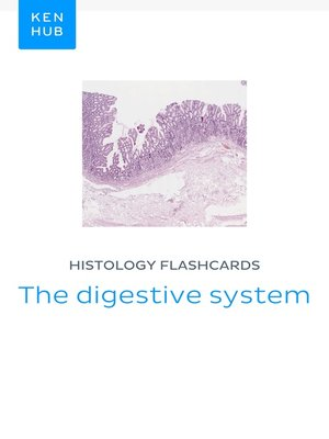 cover image of Histology flashcards
