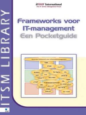 cover image of Frameworks voor IT-management