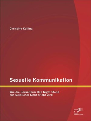 cover image of Sexuelle Kommunikation