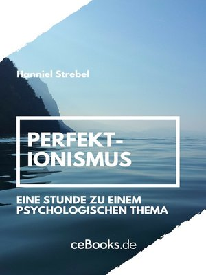 cover image of Perfektionismus