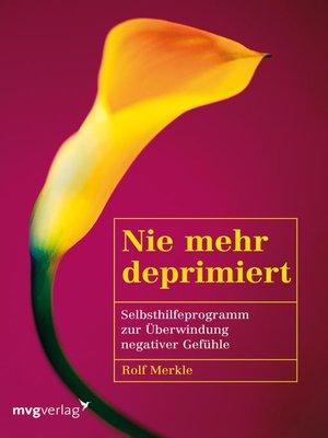 cover image of Nie mehr deprimiert