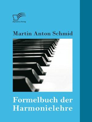 cover image of Formelbuch der Harmonielehre