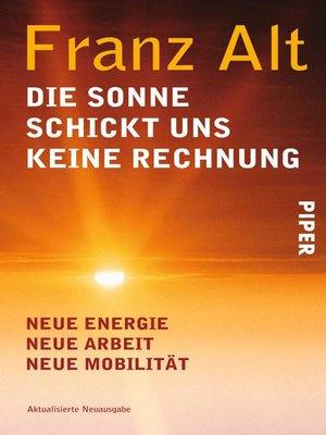 cover image of Die Sonne schickt uns keine Rechnung