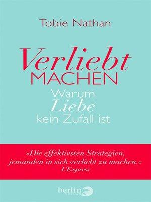 cover image of Verliebt machen