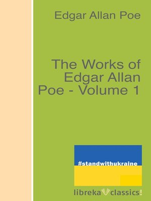 cover image of The Works of Edgar Allan Poe--Volume 1